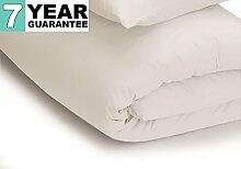 Belledorm Bettbezug–unifarben 200Fadenzahl, Baumwollmischung, Weiß, Super King
