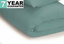 Belledorm Bettbezug–unifarben 200Fadenzahl, Baumwollmischung, Blaugrün, Super King