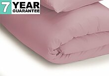 Belledorm Bettbezug–unifarben 200Fadenzahl, Baumwollmischung, Blush, King Size