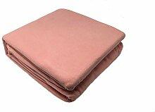 Belledorm Snuggle UPS Fleece Decke/Überwurf für Bett oder Sofa, 100 % Polyester, Pink, Doppelbe