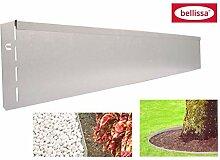 bellissa 15x Metall Rasenkante 118cm Beetumrandung