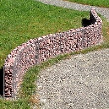 bellissa Gabionen Mauer 232x40cm erweiterbar