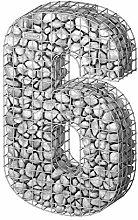 bellissa Gabionen-Ziffer 6-97186 - Steinkorb als