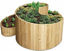 bellissa Kräuterspirale Holz -95480 -