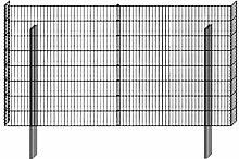 BELLISSA Zaun Gabionen-Mauersystem Limes Basisbausatz 230 x 12 cm 1 Stk., 60 cm
