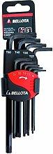 Bellota 64599TIP 6459-9 Tip Inbusschlüssel-Set,