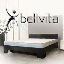bellvita Wasserbett mit Hochglanz-Bettrahmen
