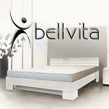 bellvita Wasserbett mit Hochglanz-Bettrahmen weiß
