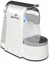 BELMIO Bello Kaffeevollautomat Kunststoff, Kunststoff, weiß, 36 x 18,5 x 30 cm