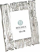 Belssia Fotohalter Rinde Baum, Metall, Gold, 22x