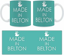 Belton-Strukturen Becher groß aus Keramik