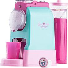Beluga Sweet & Easy Kapselmaschine (Türkis-Pink) [Kinderspielzeug]