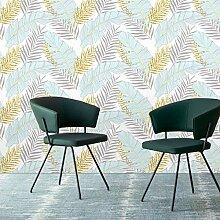 Belzesso Moderne Tapete mit floralem Blätter,