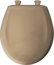 Bemis rund Kunststoff WC-Sitz mit whisperclose,