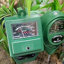bemodst® 3in 1PH Tester Boden Wasser Moisture
