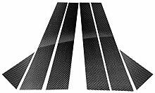 Ben-gi 6pcs / Set Carbon-Faser-Auto-Fenster Säule