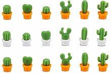 Benbo Kühlschrank-Magnete, Kaktus, niedliche