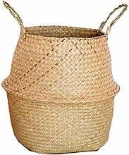 Bendicx Korb aus Seegras, Rattan, faltbar, zum