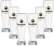 Benediktiner Weissbier Weizen Bierglas Glas