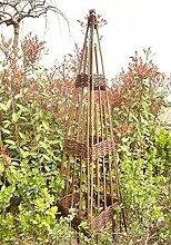 Benelando® Rankobelisk aus Weide - 120 cm