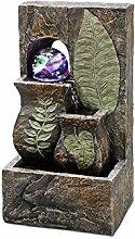 Benjara 26,7 cm Polyresin Tischbrunnen mit