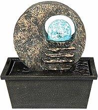Benjara Tischbrunnen aus Polyresin, 21,6 cm, mit