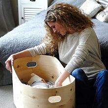 Benni´s Nest Babybett aus Zirbenholz inkl.