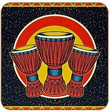 Bennigiry Afrikanische Musik Djembe Leder