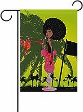 bennigiry Bird afrikanischen Frauen Garten Flagge