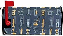 Bennigiry Briefkasteneinband mit abstraktem