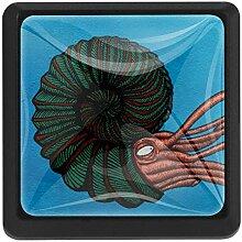 Bennigiry Octopus Tentakel Art quadratischer