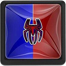Bennigiry Türknauf mit Spinnen-Design,