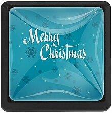 Bennigiry Türknauf mit Weihnachtsmotiv und