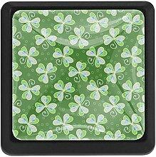 Bennigiry Türknauf, quadratisch, Kristallglas,