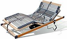 Benninger Select Motor-Rahmen, 7-Zonen, 42 Leisten, 12-fache Härtegradregulierung, belastbar und stabil (120 x 200 cm)