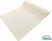 Benny beige Dänisches Flachgewebe HEVO® Teppich | Kinderteppich | Spielteppich 120x400 cm