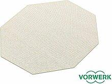 Benny beige Dänisches Flachgewebe HEVO® Teppich | Kinderteppich | Spielteppich 200 cm Achteck