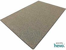 Benny braun Dänisches Flachgewebe HEVO® Teppich | Kinderteppich | Spielteppich 200x200 cm