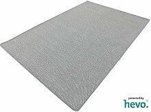 Benny grau Dänisches Flachgewebe HEVO® Teppich | Kinderteppich | Spielteppich 150x200 cm