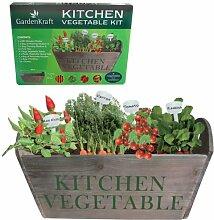 Benross GardenKraft 17310 Gemüse-Pflanztrog-Set