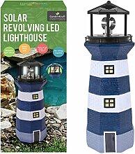 Benross Gardenkraft Solar Leuchtturm mit