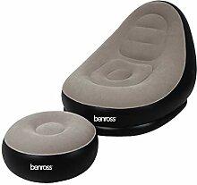 Benross Group - Latex Aufblasbare 2 Teile Liege,