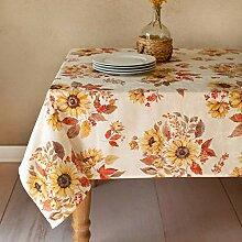 Benson Mills Tischdecke mit Sonnenblumen-Motiv,