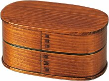 Bento-Box aus Holz fuer Maenner Suri Lack