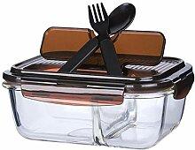 Bento Box Brotdose Mikrowelle Heizglas Lunchbox