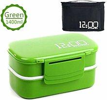 Bento Box Brotdose Mikrowelle Lunch Box Drei
