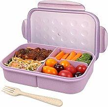 Bento Box für Erwachsene, Lunchboxen für Kinder,