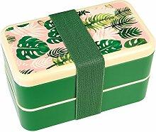 Bento-Box für Erwachsene mit Motiv tropischer