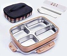 Bento Box Lunchbox 304 EdelstahlMikrowelle