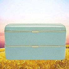 Bento Box Lunchbox Brotdose Brotbüchse mit Zwei